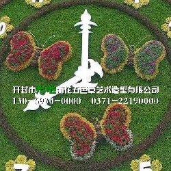 喀什立体花坛